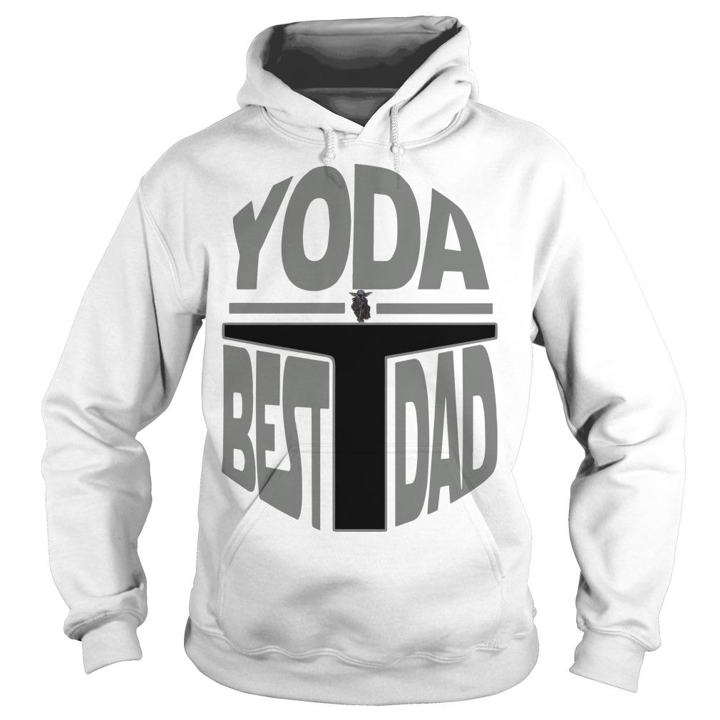 The Mandalorian Yoda Best Dad Hoodie