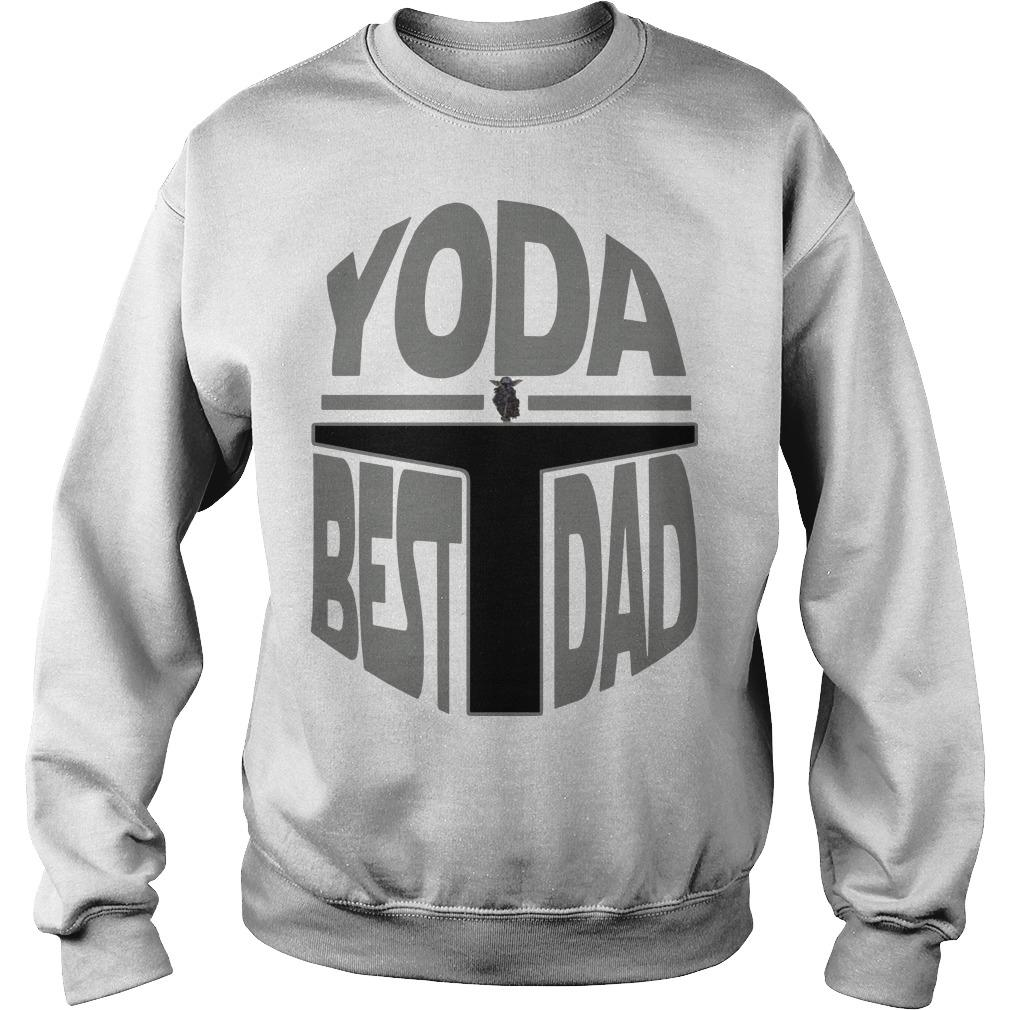 The Mandalorian Yoda Best Dad Sweater