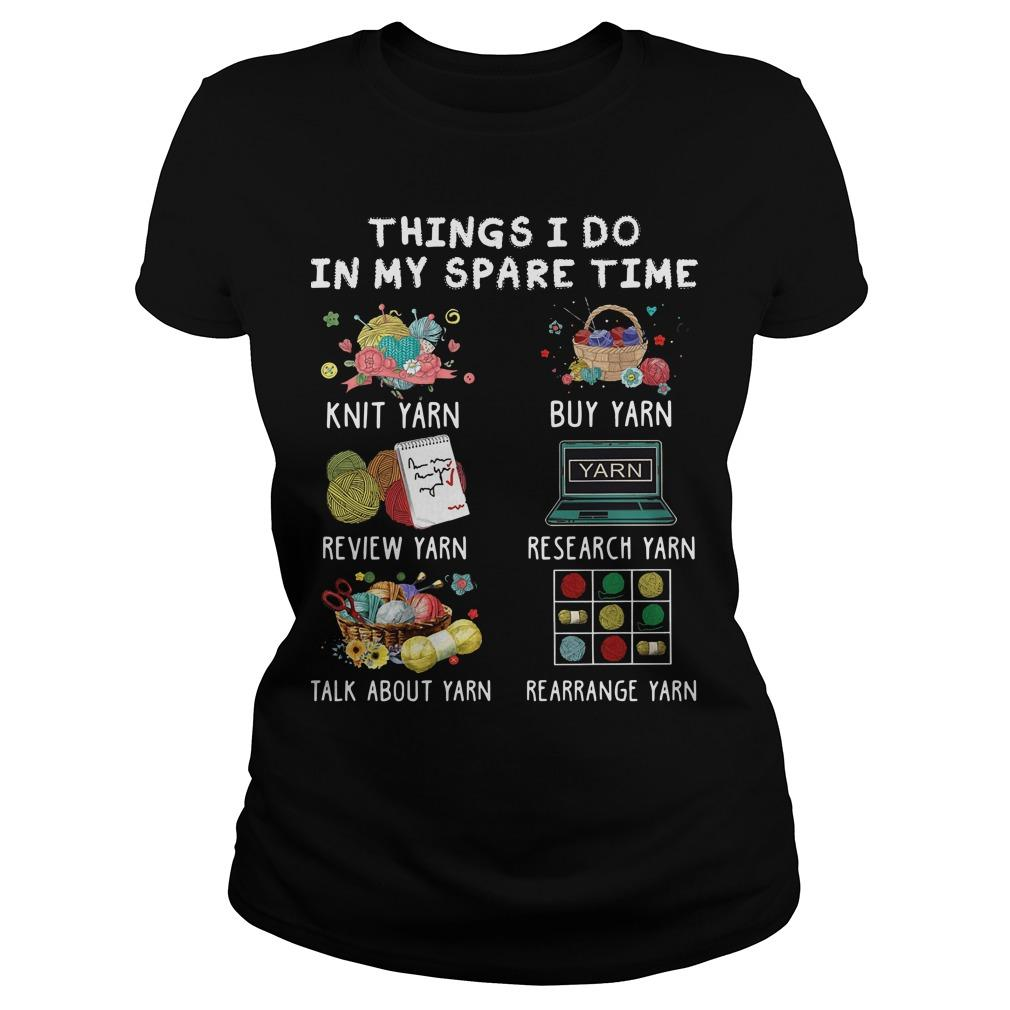 Things I Do In My Spare Time Knit Yarn Review Yarn Longsleeve