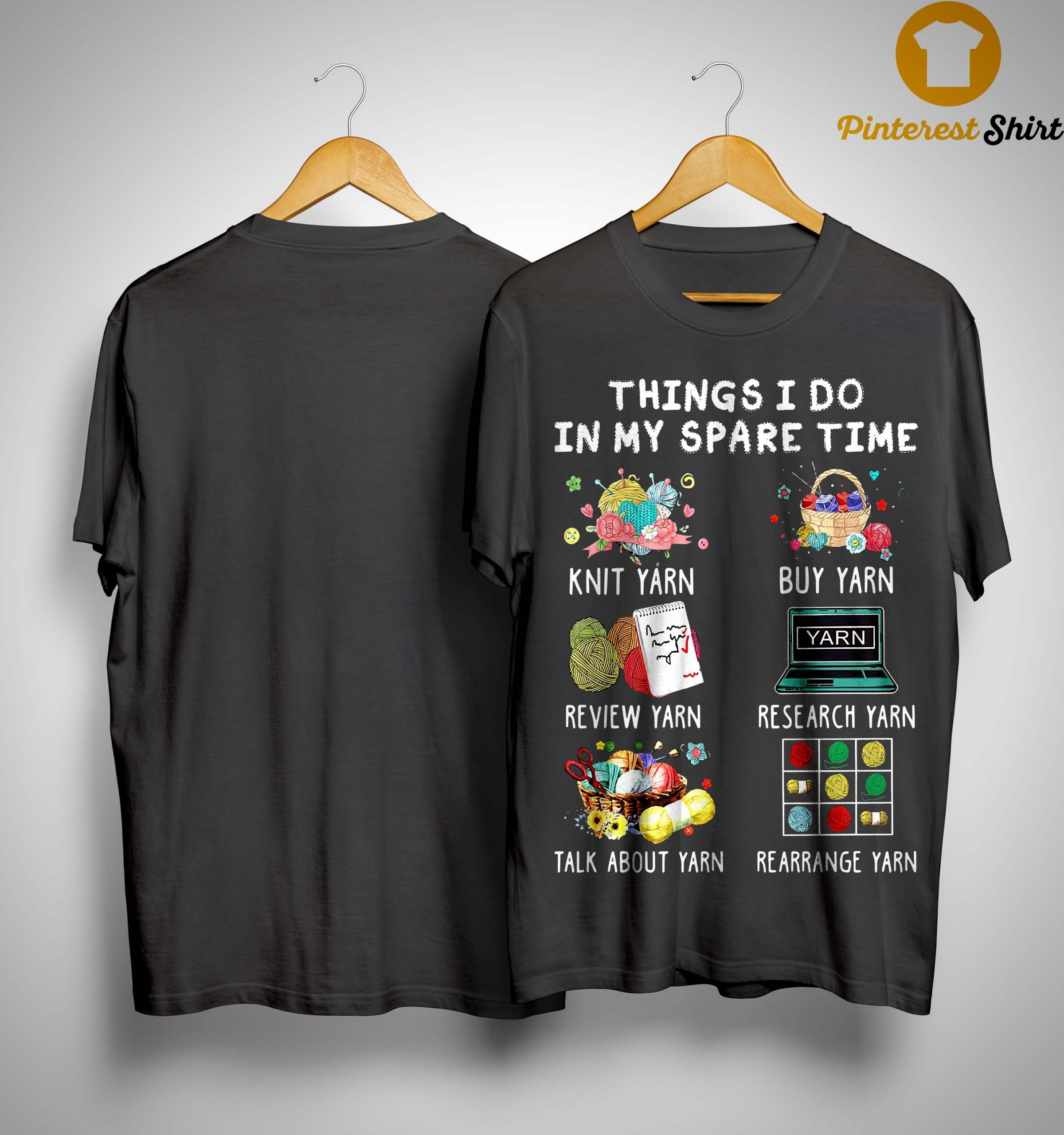 Things I Do In My Spare Time Knit Yarn Review Yarn Shirt