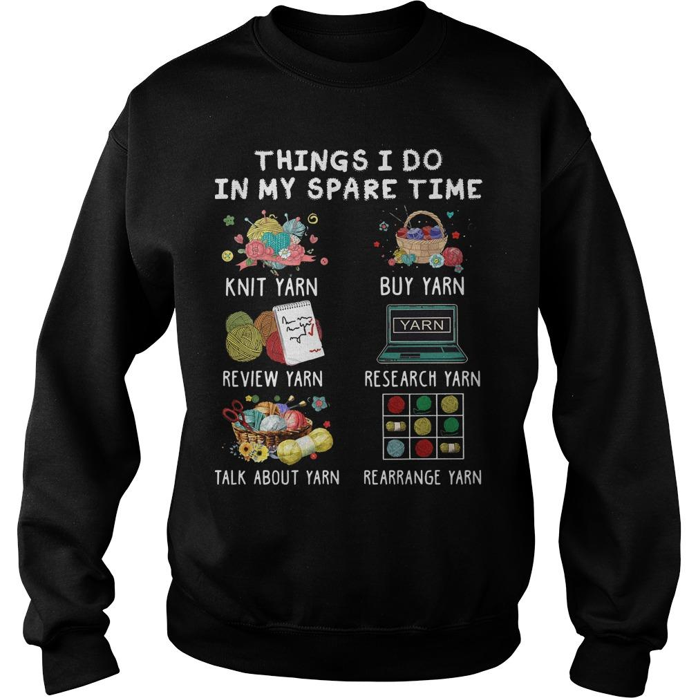Things I Do In My Spare Time Knit Yarn Review Yarn Sweater