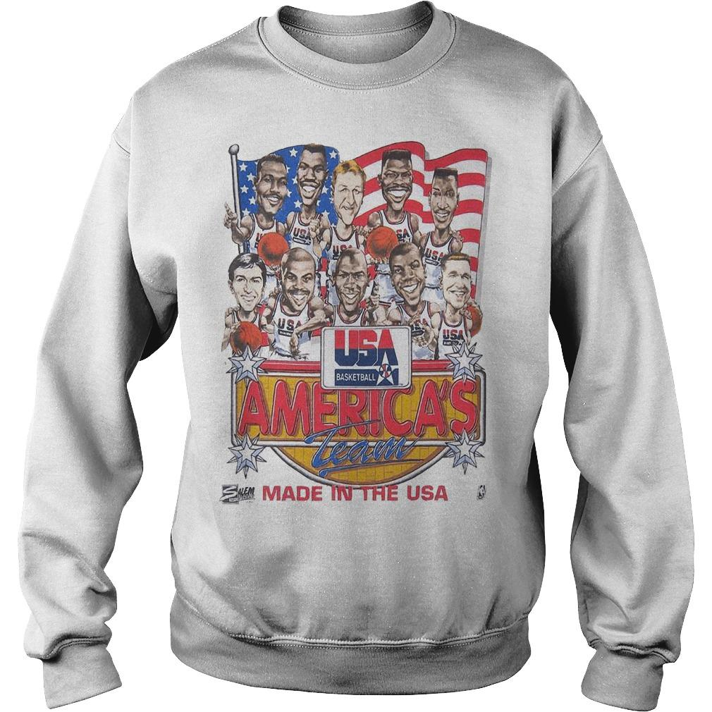 Usa Basketball America's Team Made In The Usa Sweater