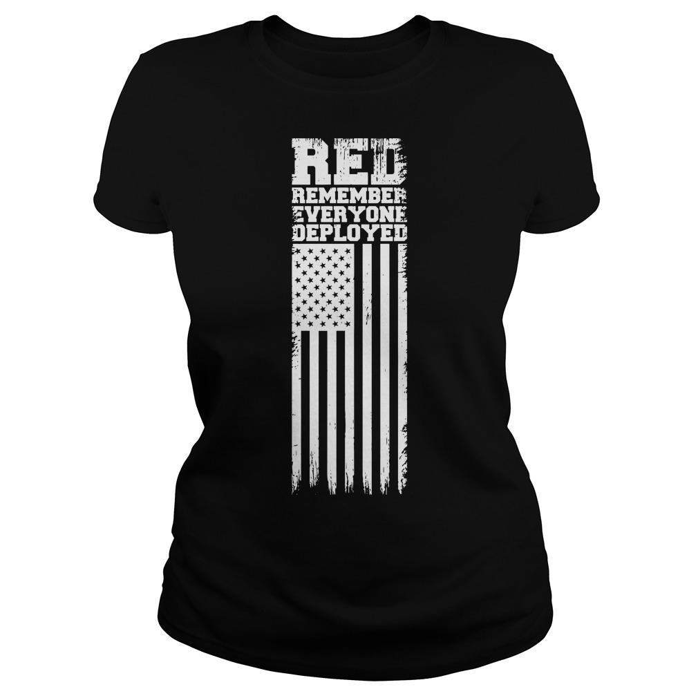VFW Edinboro Remember Everyone Deployed Red Friday Longsleeve