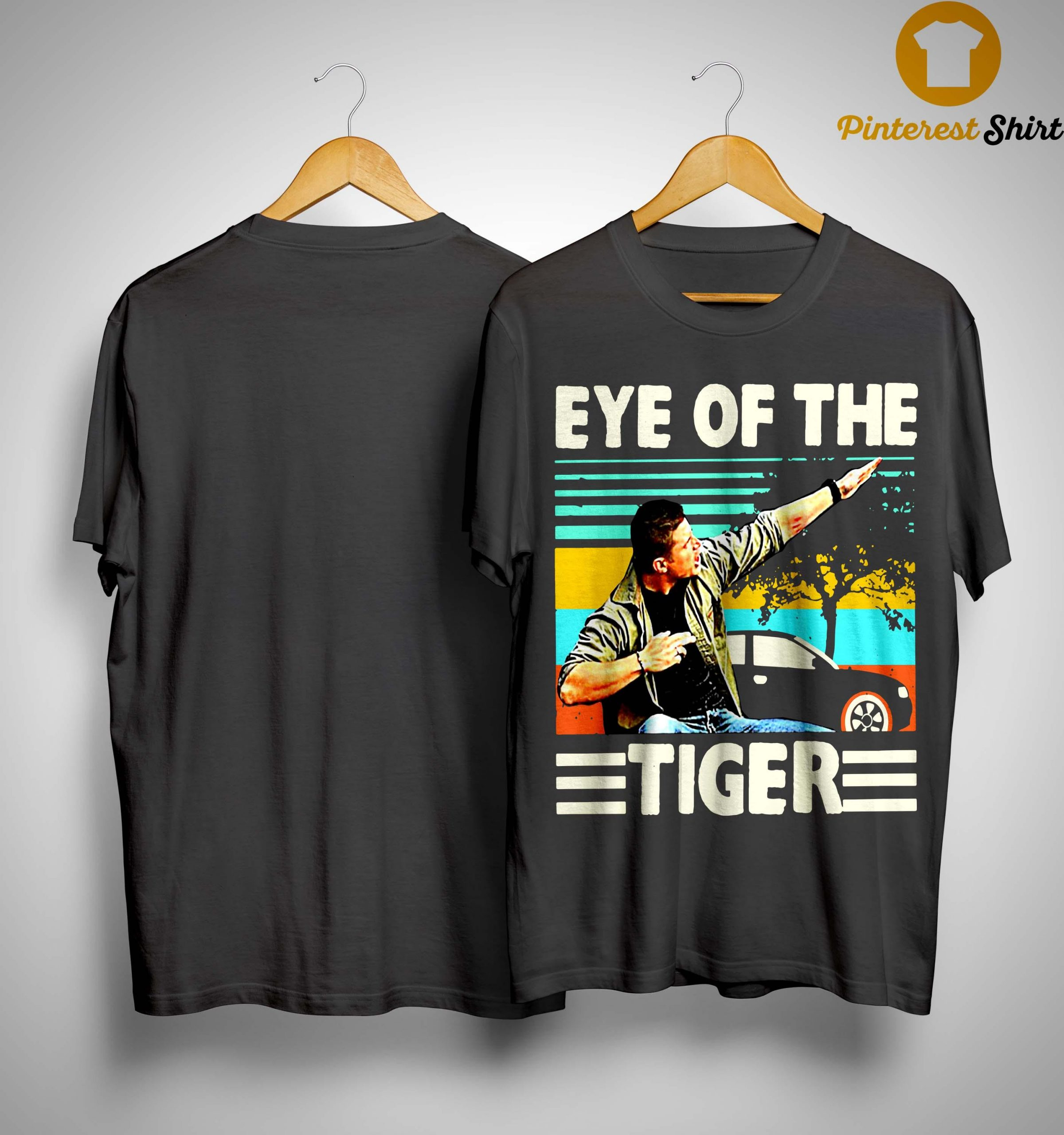 Vintage Eye Of The Tiger Shirt