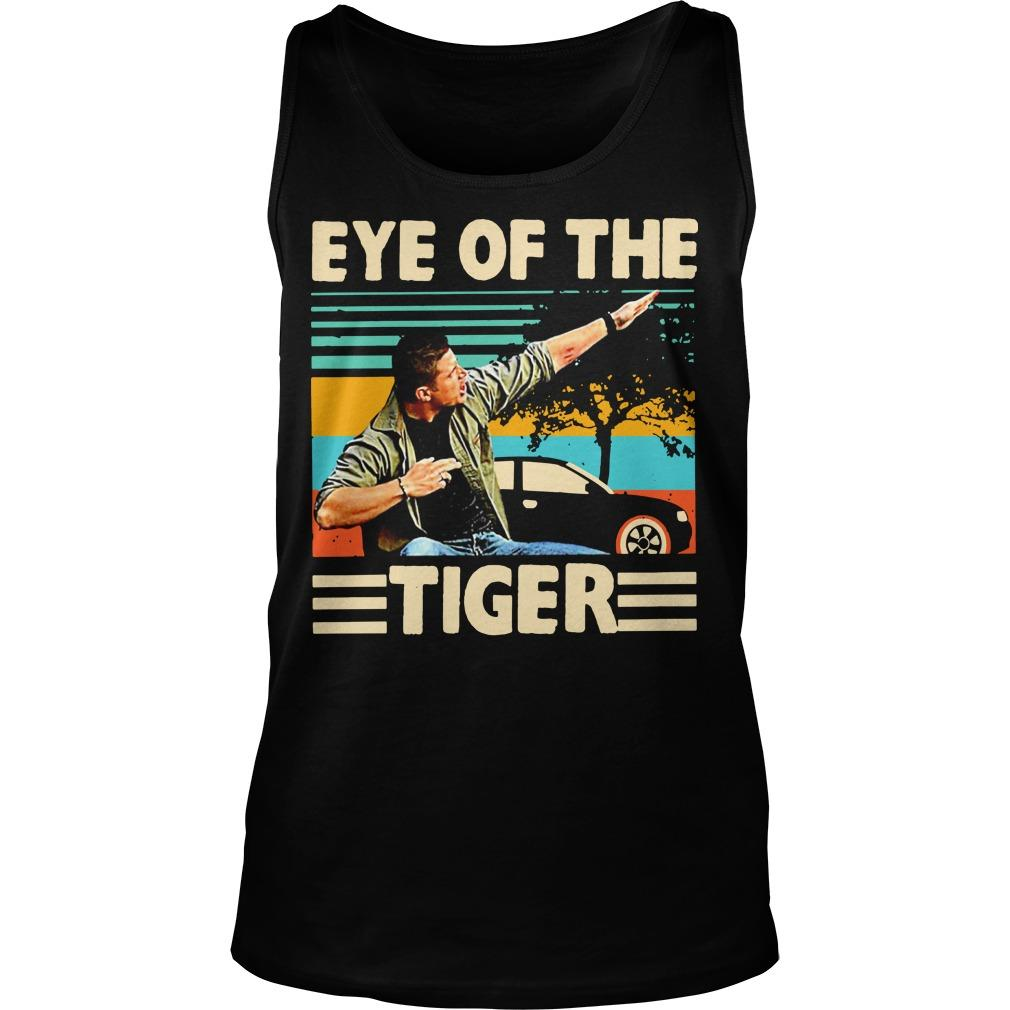 Vintage Eye Of The Tiger Tank Top