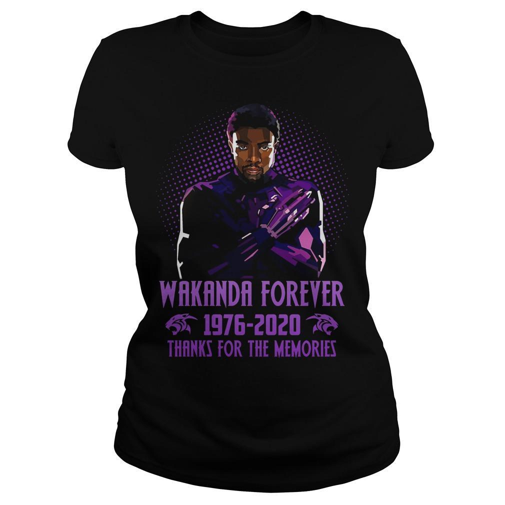 Wakanda Forever 1976 2020 Thanks For The Memories Longsleeve