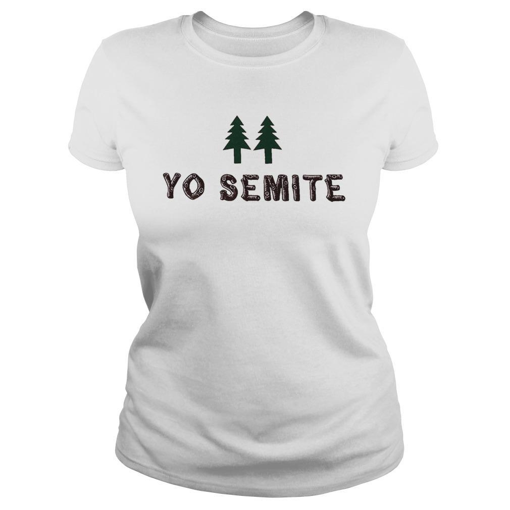 Yo Semite Jewish Tank Top