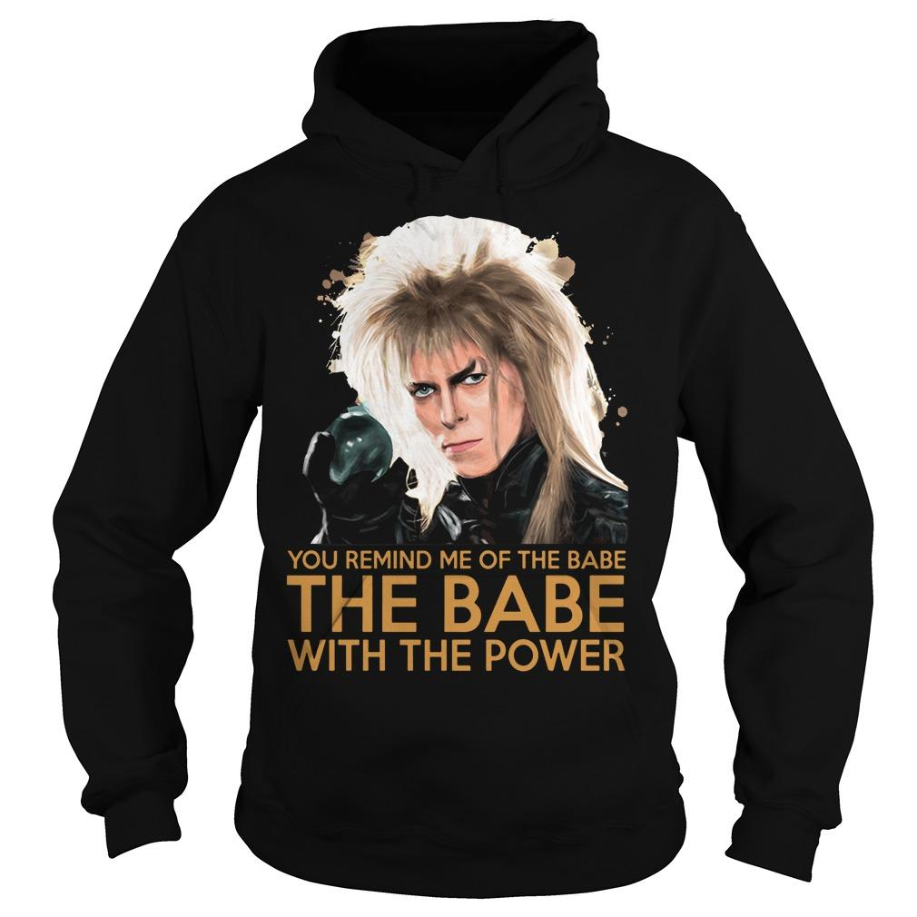 You Remind Me Of The Babe The Babe With The Power Hoodie