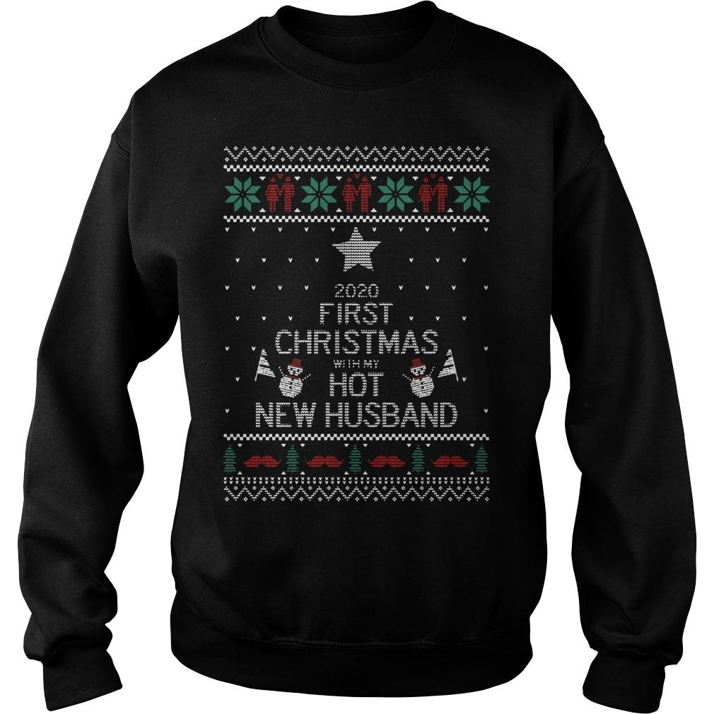 2020 First Christmas With My Hot New Husband Sweater