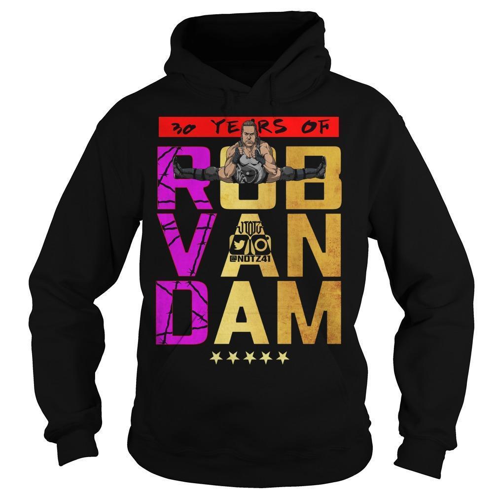 30 Years Of Rob Van Dam Hoodie