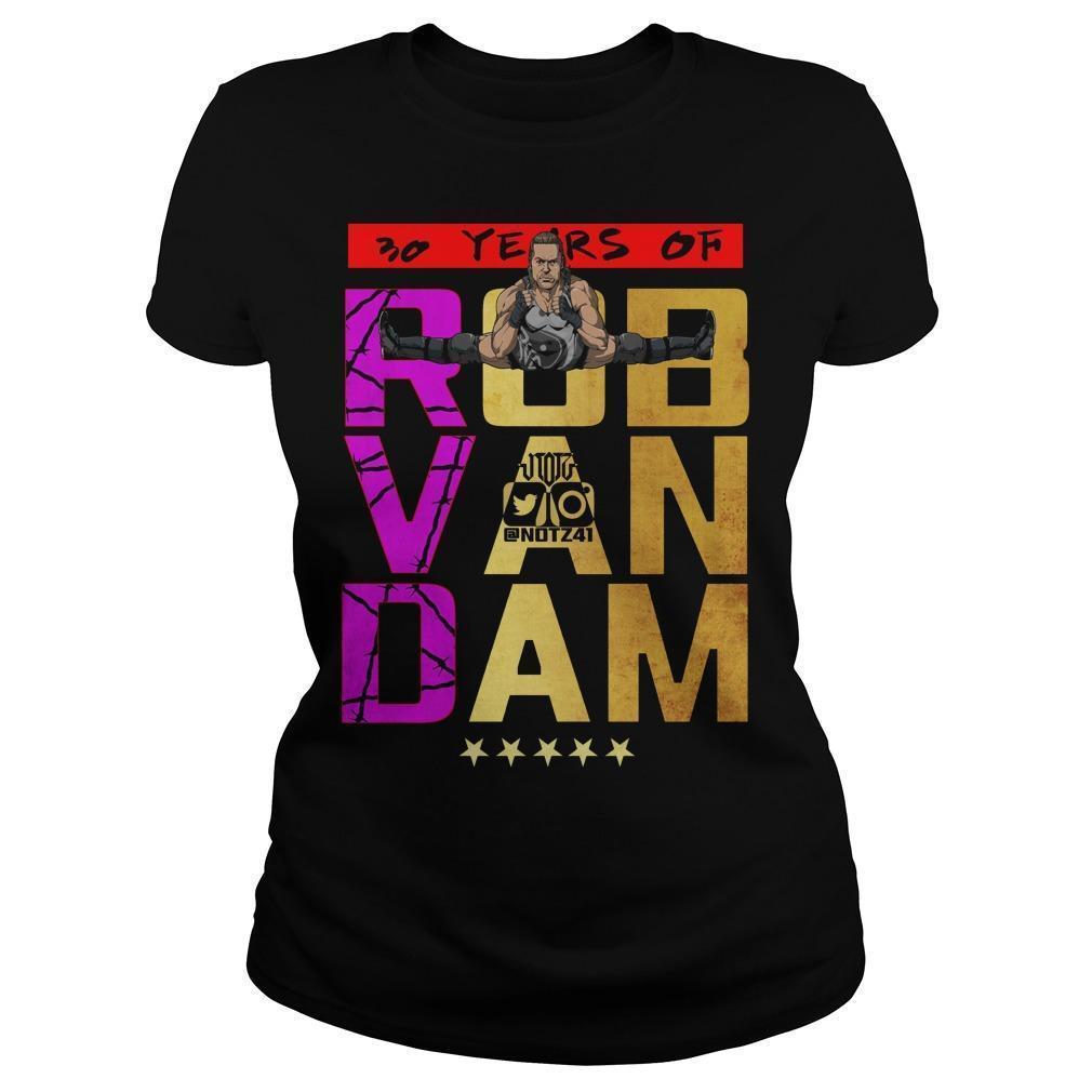 30 Years Of Rob Van Dam Longsleeve