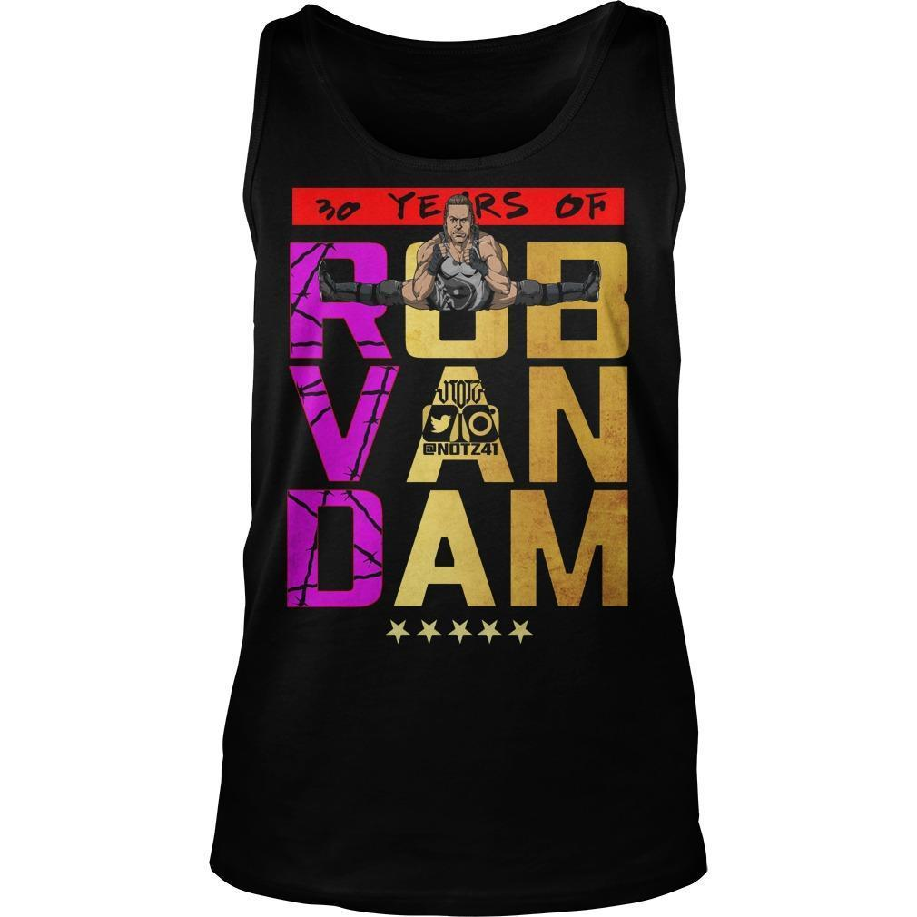 30 Years Of Rob Van Dam Tank Top