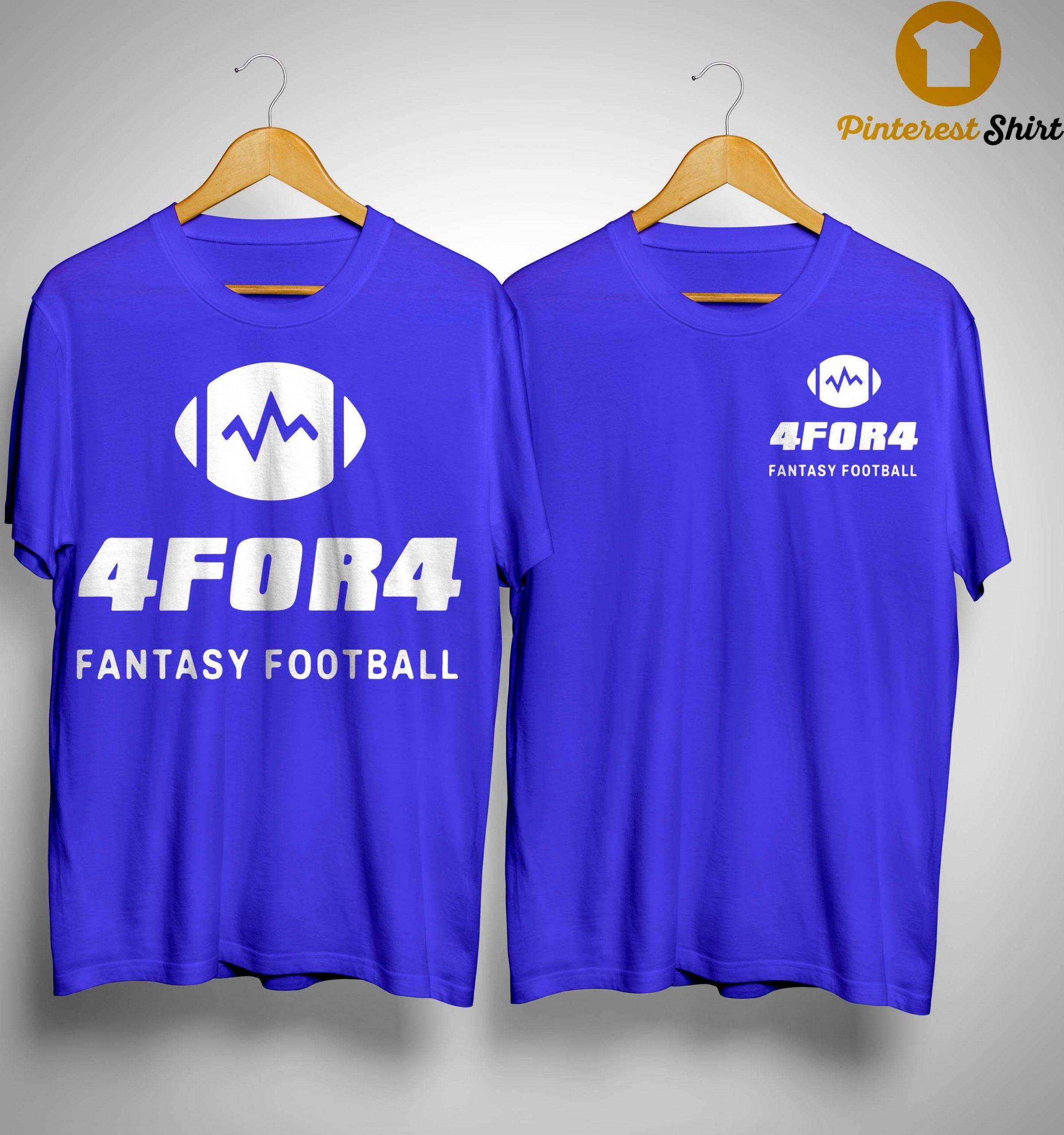 4for4 Fantasy Football Shirt