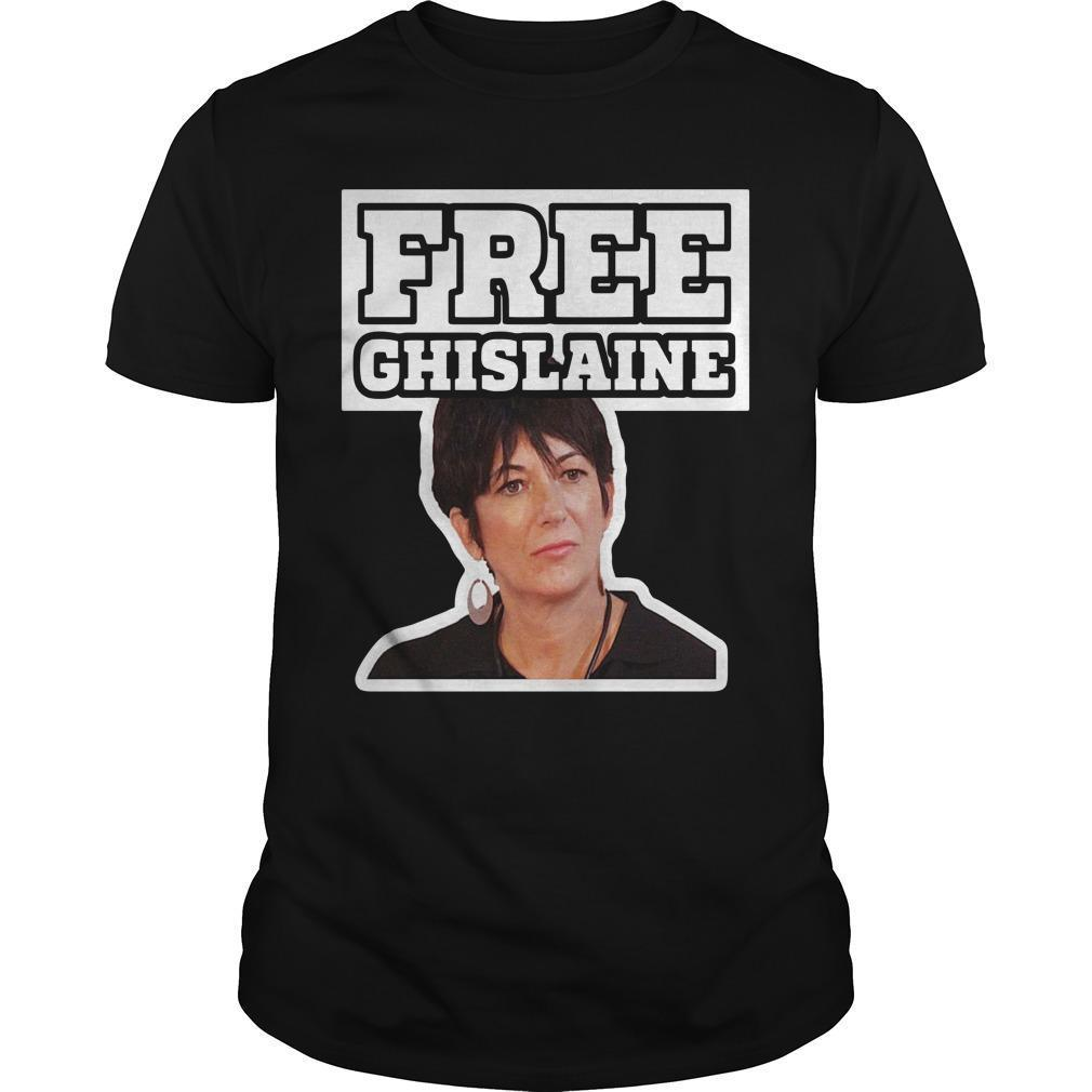 Alex Jones Free Ghislaine Shirt