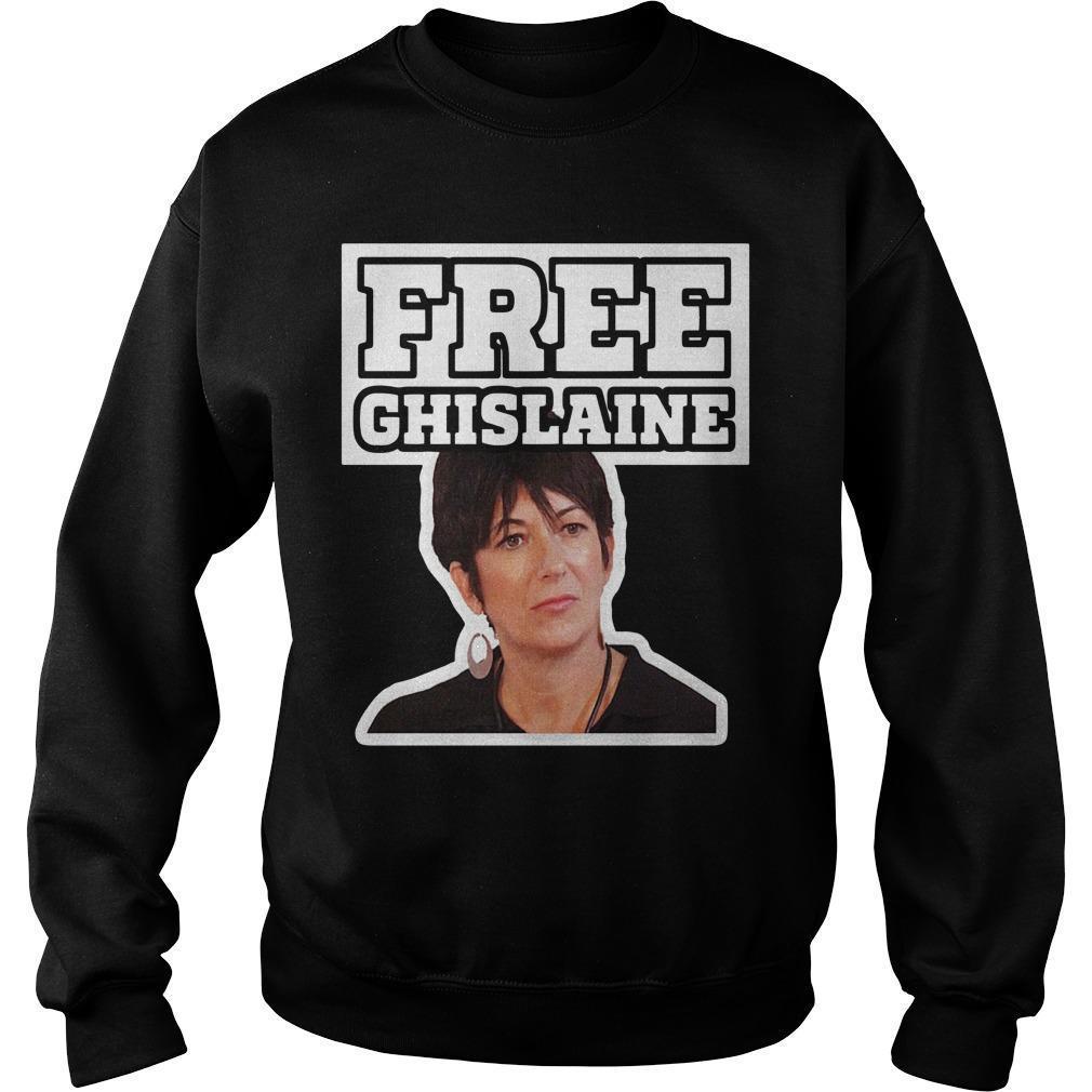 Alex Jones Free Ghislaine Sweater