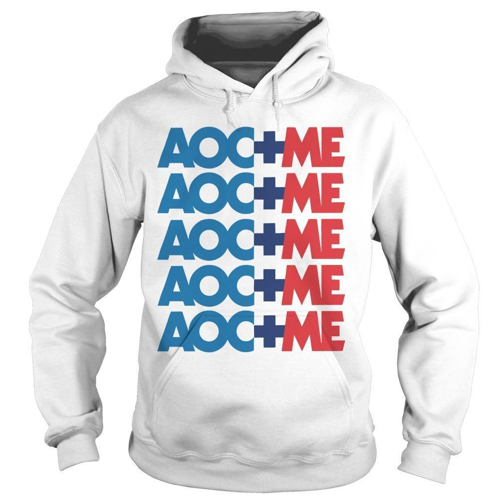 Alexandria Ocasio Cortez Aoc Plus Me Hoodie