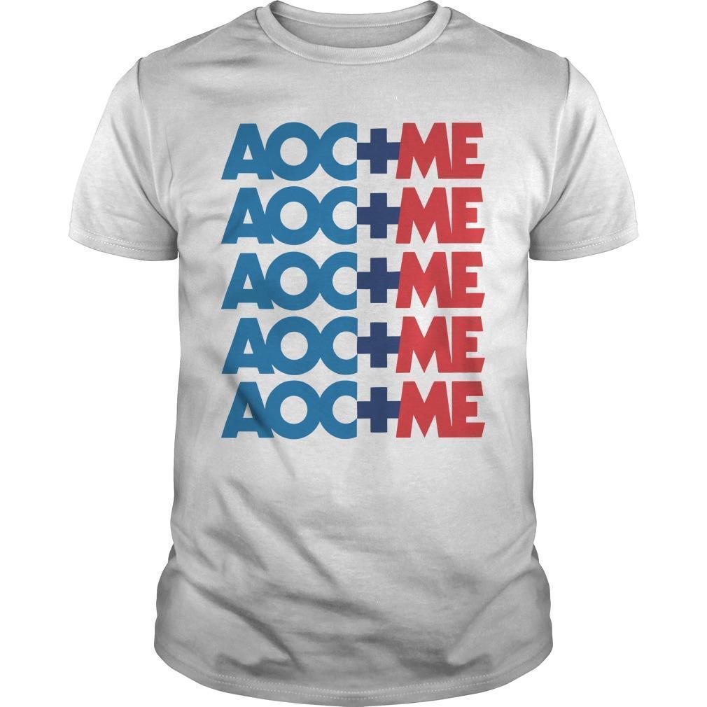 Alexandria Ocasio Cortez Aoc Plus Me Shirt