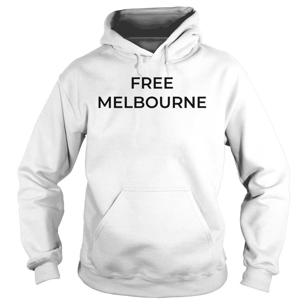 Bec Judd Free Melbourne T Hoodie