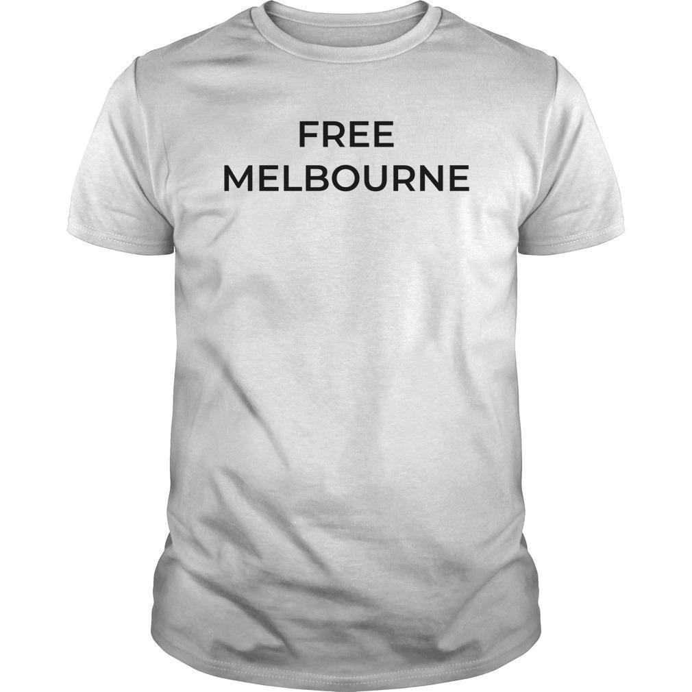 Bec Judd Free Melbourne T Shirt