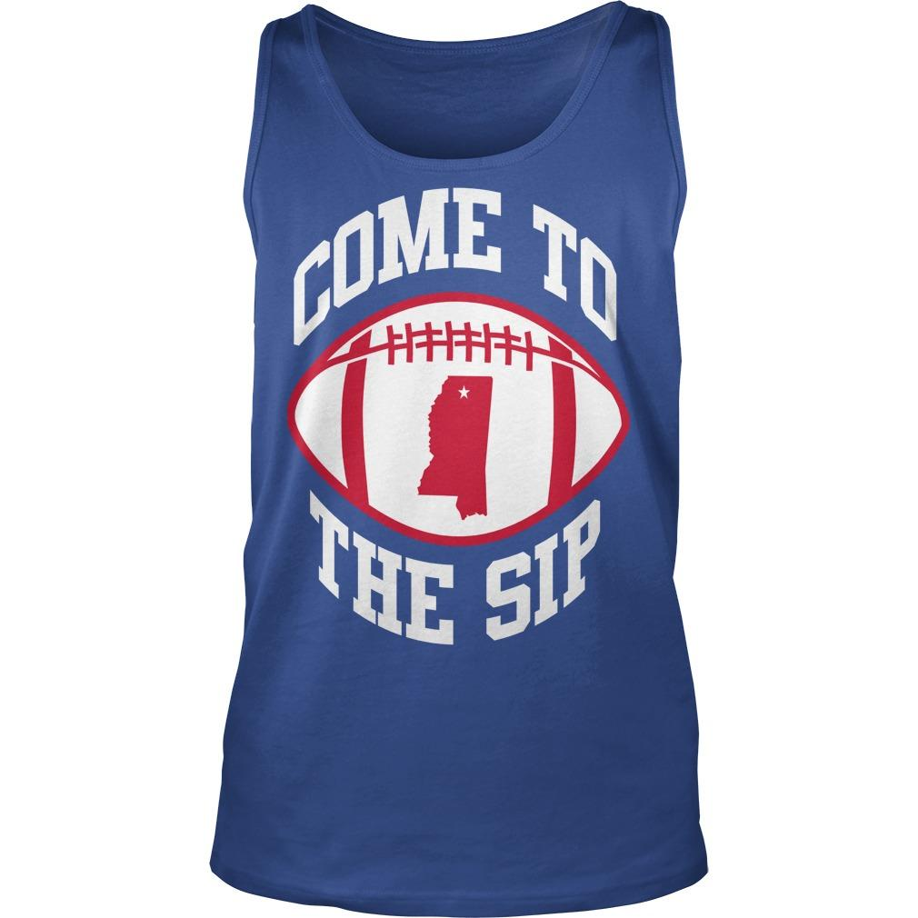 Come To The Sip Tank Top