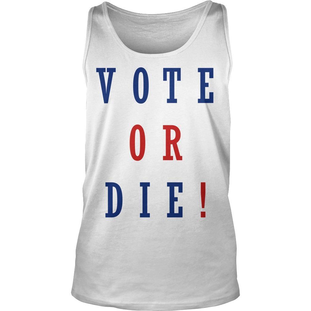 Daniel Preda Vote Or Die Tank Top