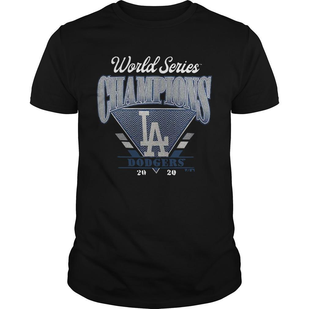 Dodgers 2017 World Series Champions Shirt