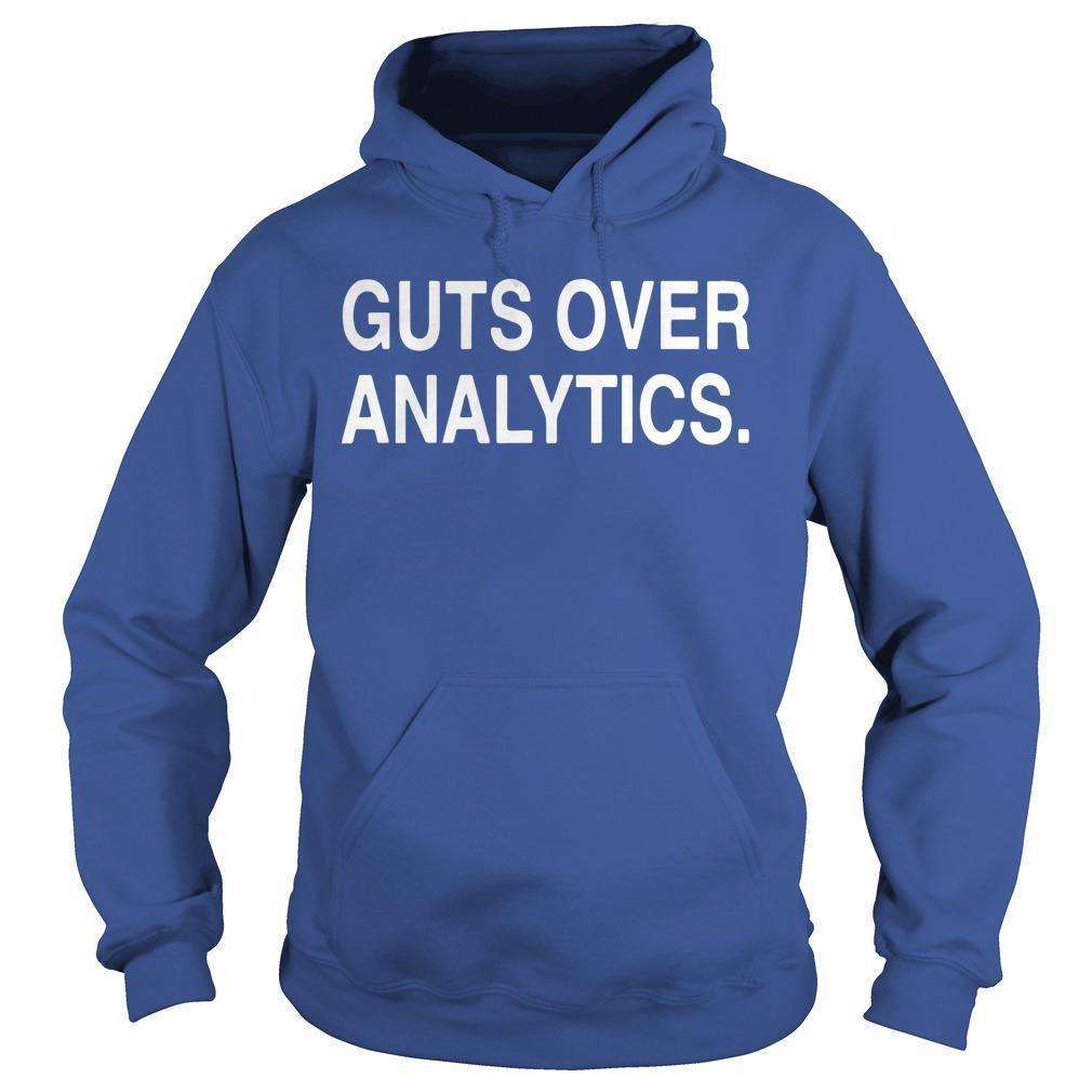 Guts Over Analytics Hoodie
