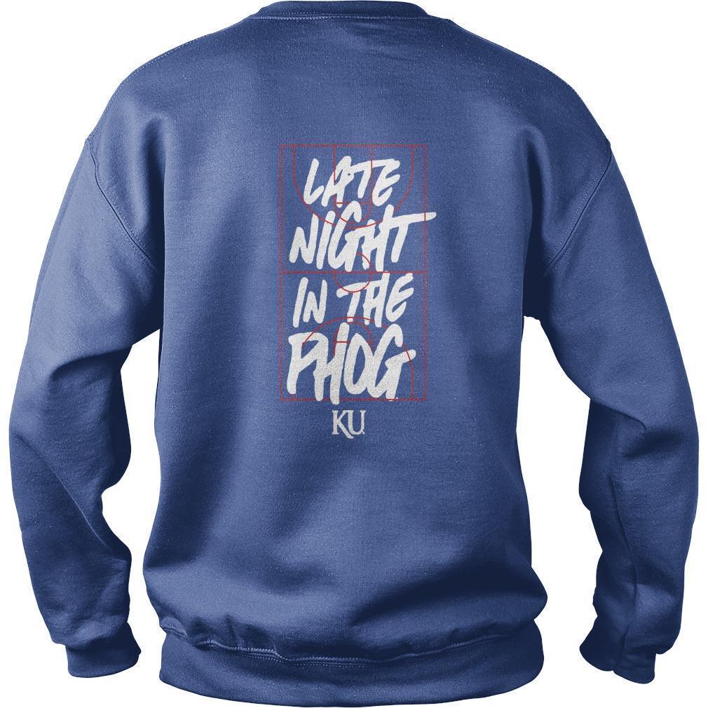 Kansas Jayhawks Late Night In The Phog Sweater