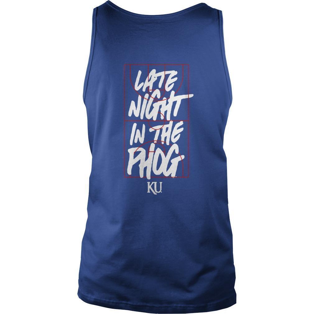Kansas Jayhawks Late Night In The Phog Tank Top