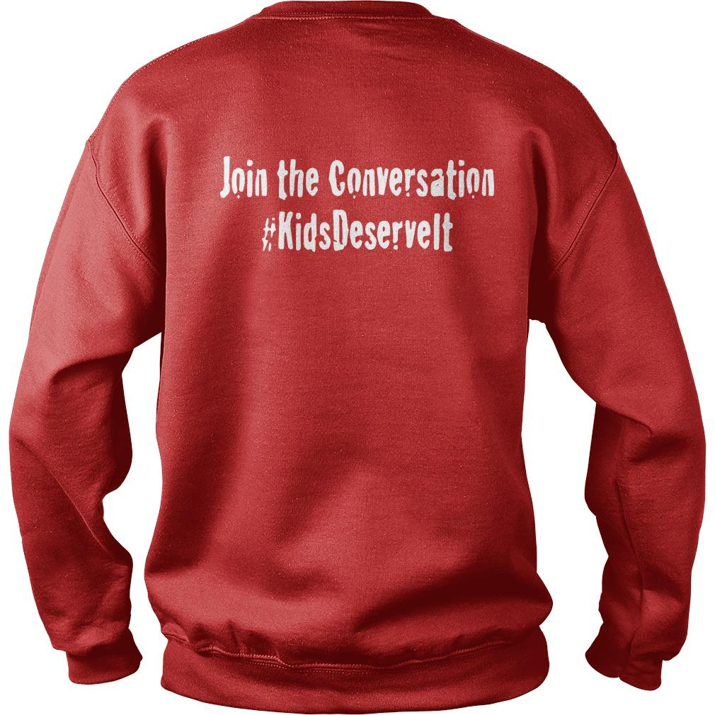 Kids Deserve It Join The Conversation Sweater