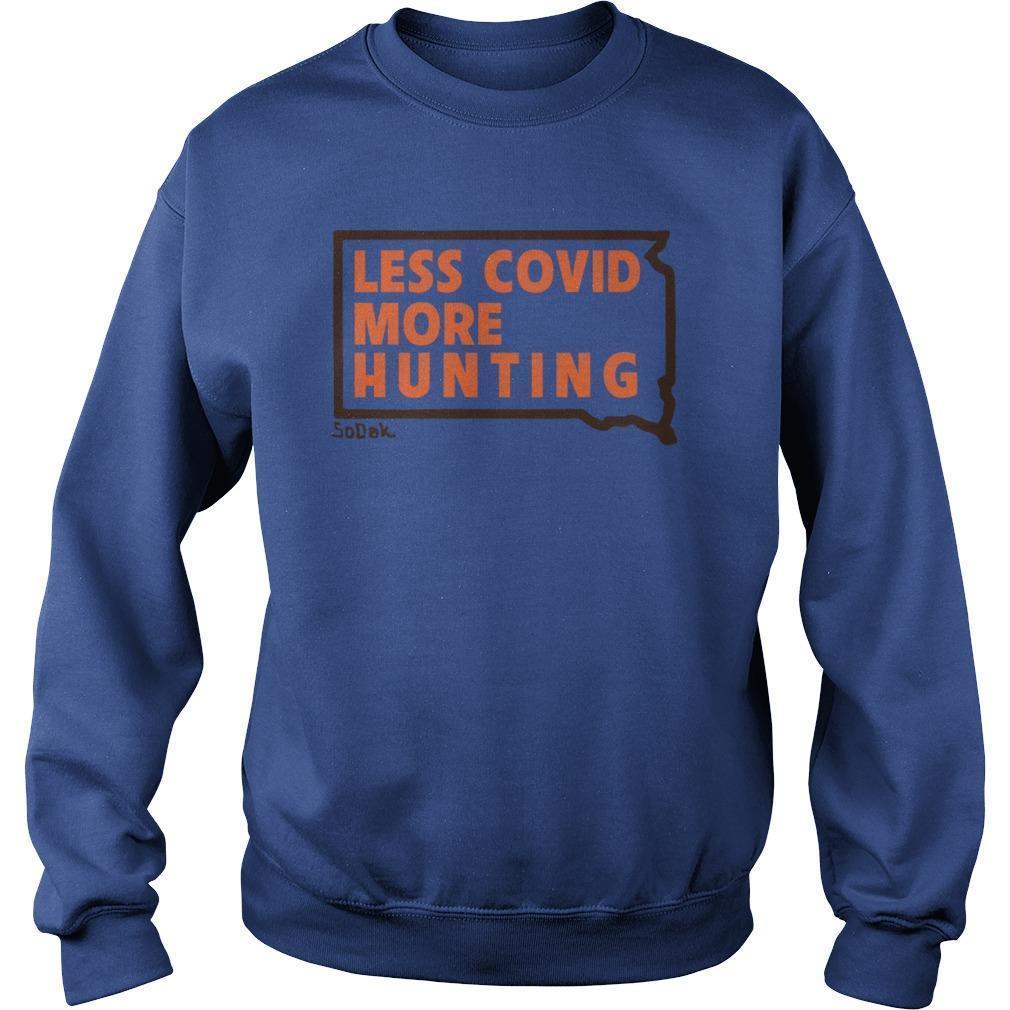 Kristi Noem Less Covid More Hunting Sweater