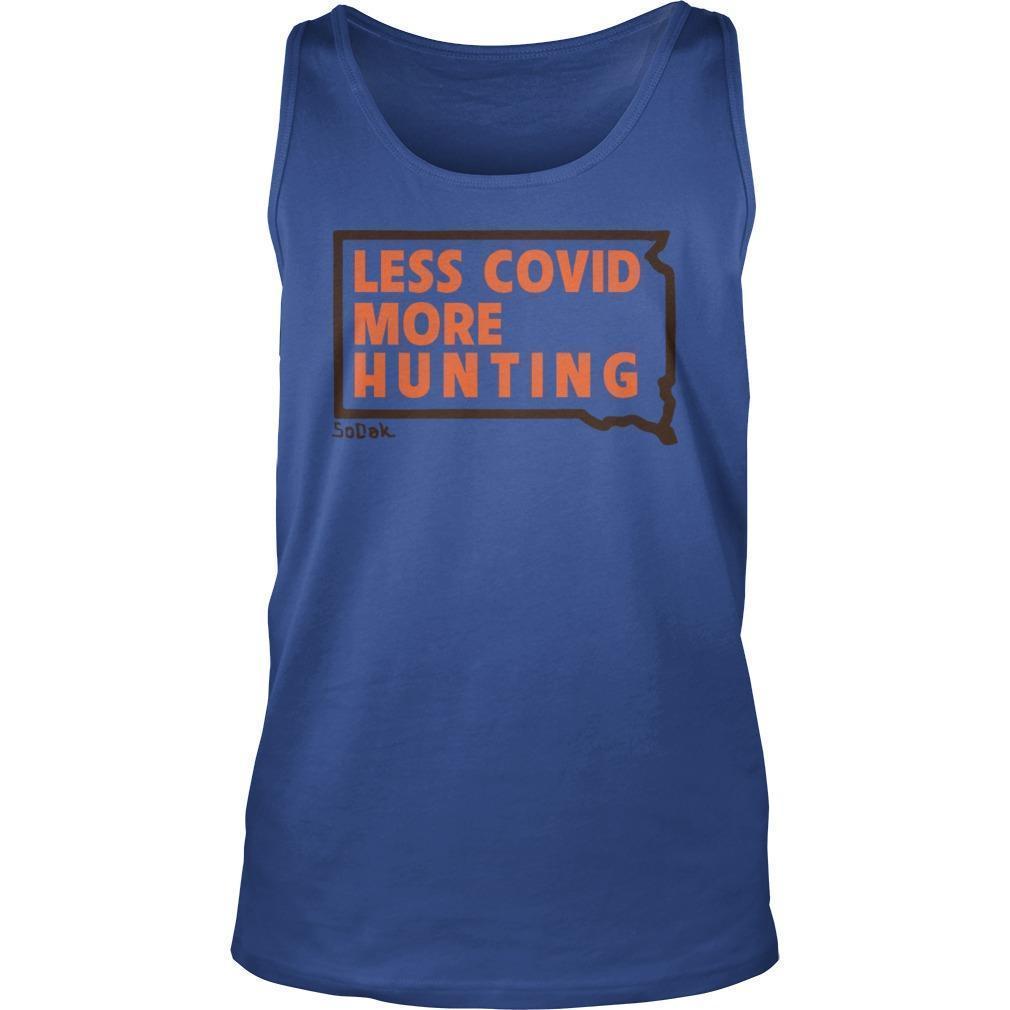 Kristi Noem Less Covid More Hunting Tank Top