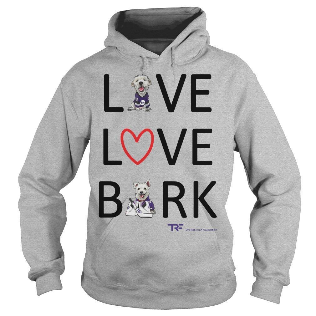 Live Love Bark Hoodie