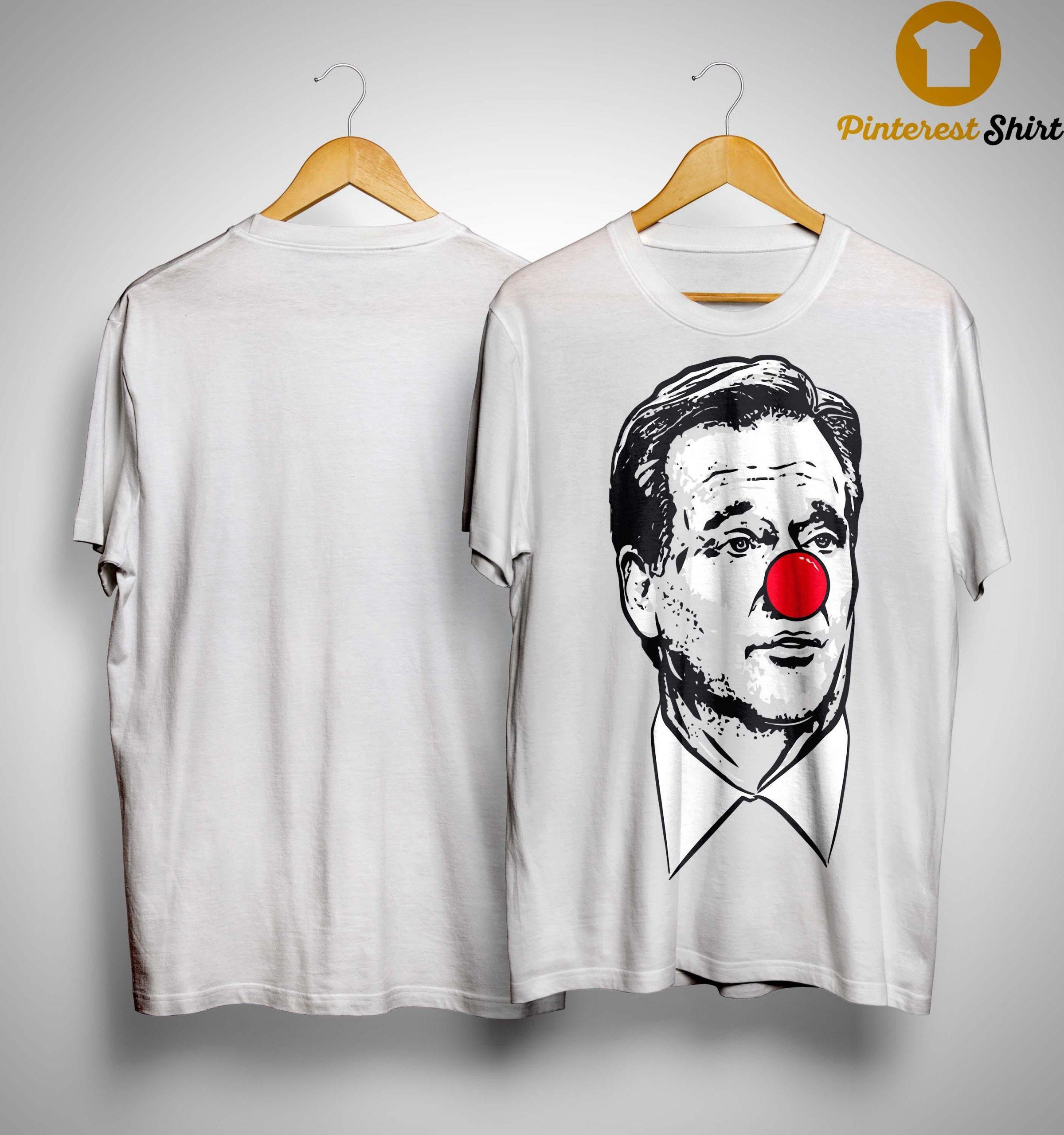 Matt Patricia Clown Nose Goodell Clown Shirt