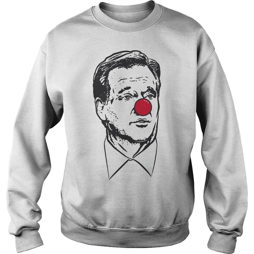 Matt Patricia Clown Nose Goodell Clown Sweater