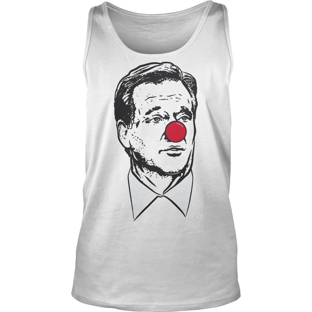 Matt Patricia Clown Nose Goodell Clown Tank Top