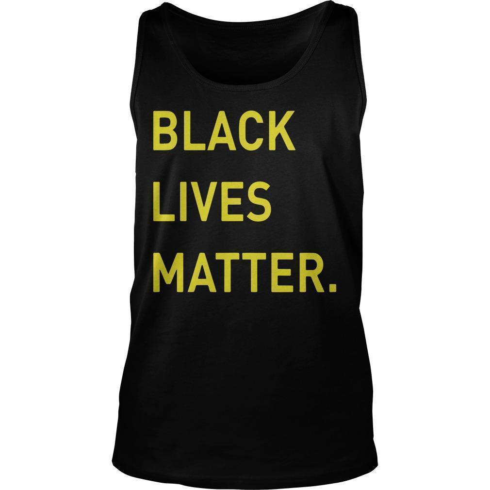 Miami Hurricanes Black Lives Matter Tank Top