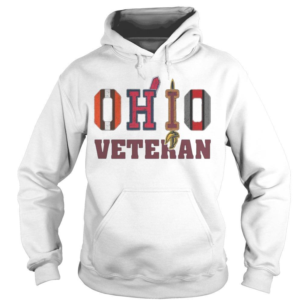 Ohio Veteran Cleveland Indians T Hoodie