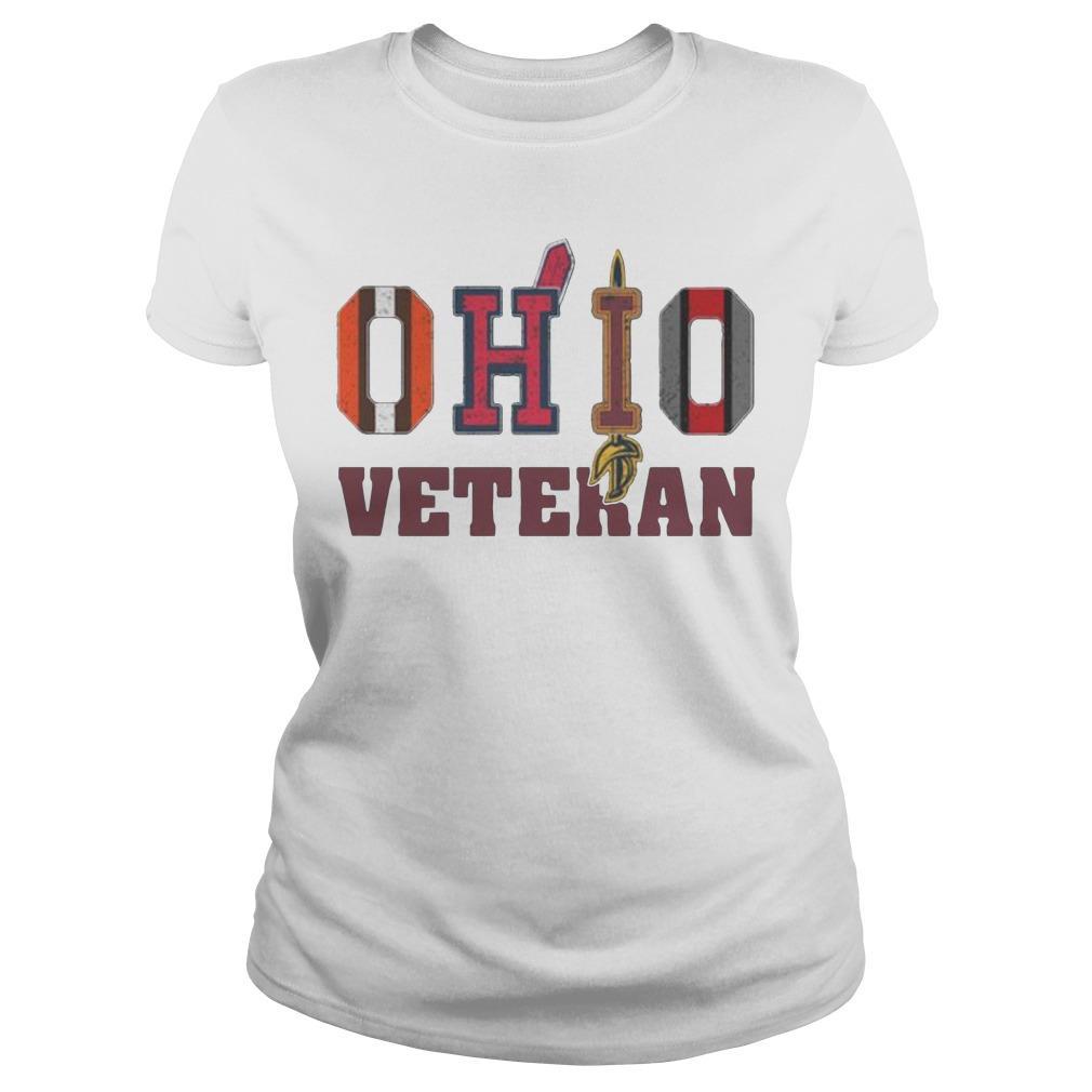 Ohio Veteran Cleveland Indians T Longsleeve