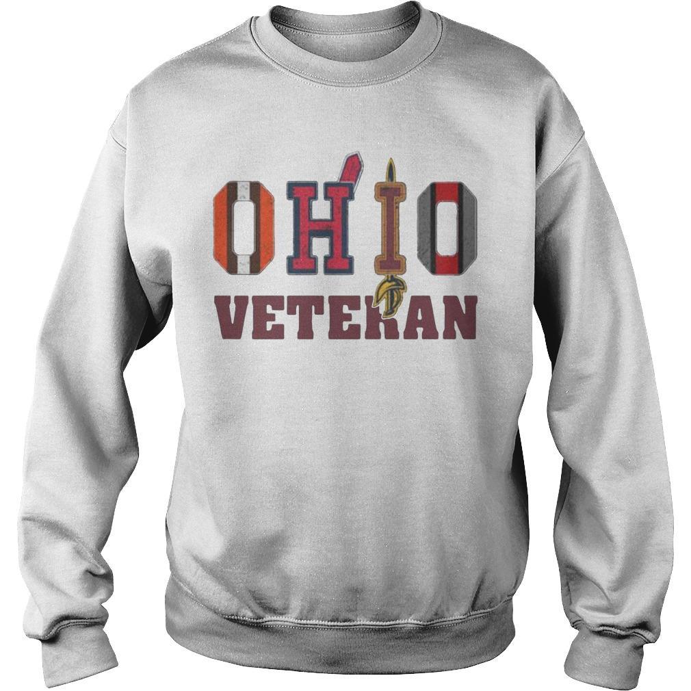 Ohio Veteran Cleveland Indians T Sweater