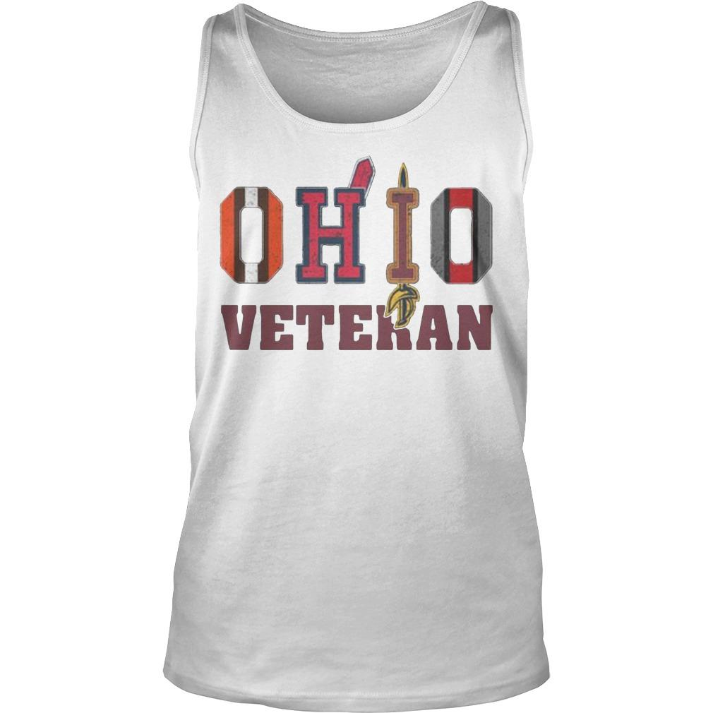 Ohio Veteran Cleveland Indians T Tank Top