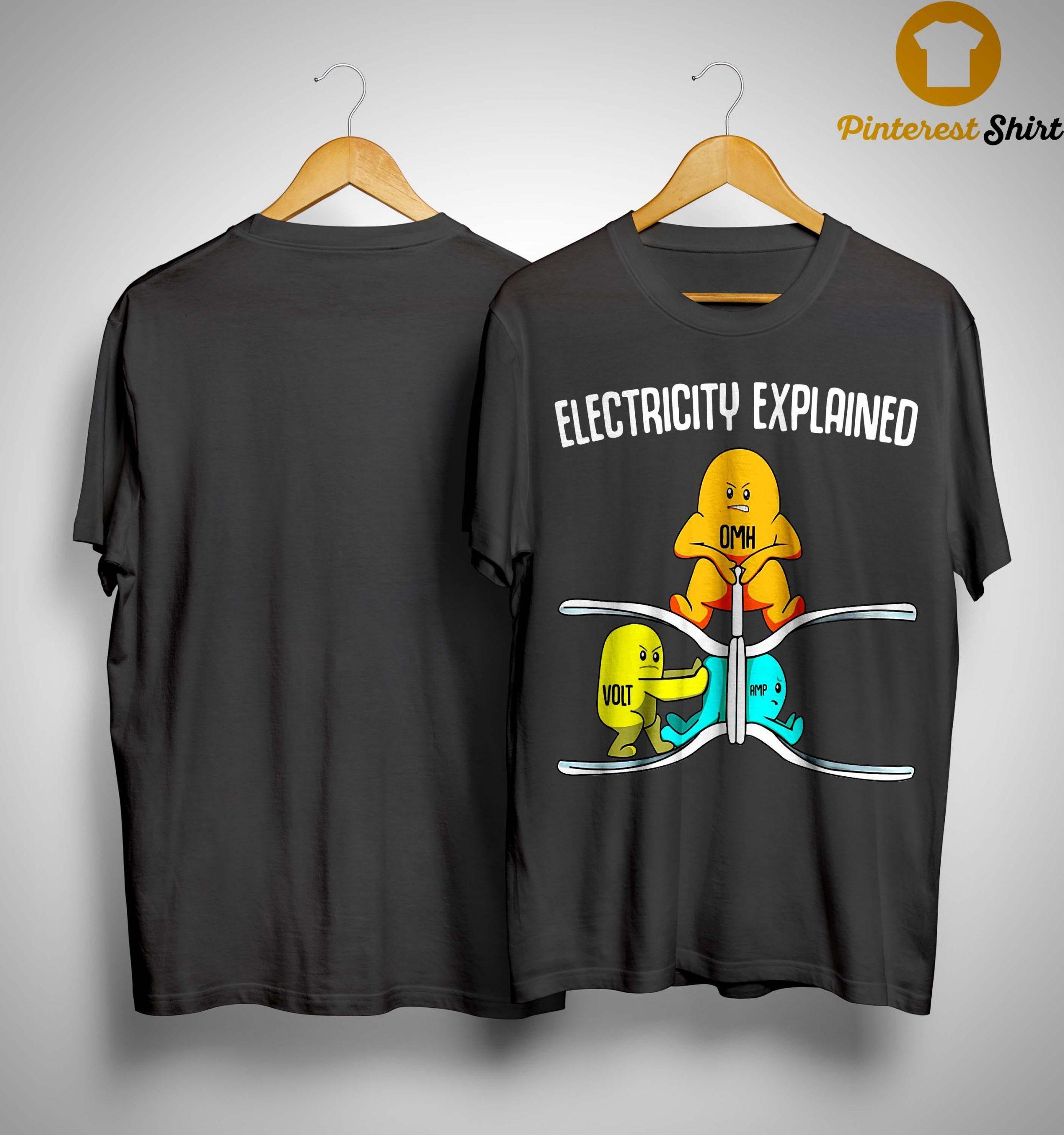 Ohm Volt Electricity Explained Shirt