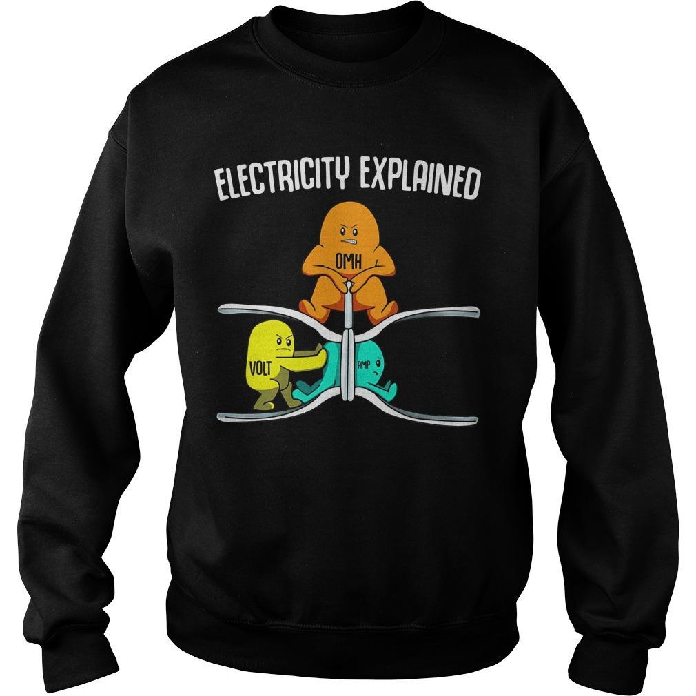 Ohm Volt Electricity Explained Sweater