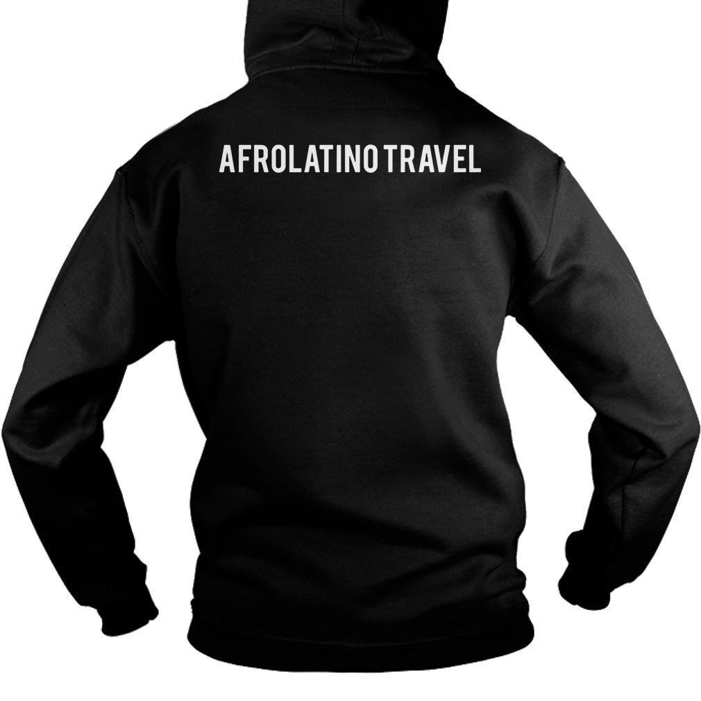 Orgullosamente Afrodescendiente Afrolatino Travel Hoodie