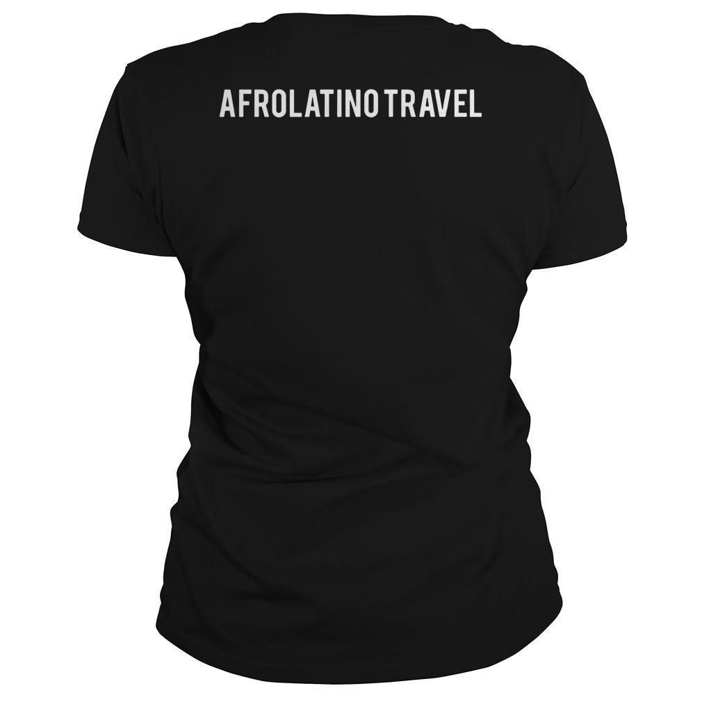 Orgullosamente Afrodescendiente Afrolatino Travel Longsleeve