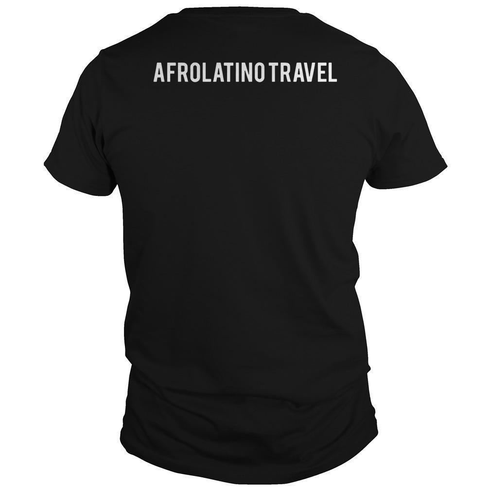 Orgullosamente Afrodescendiente Afrolatino Travel Shirt