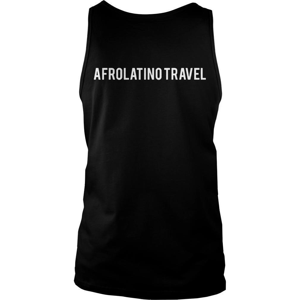 Orgullosamente Afrodescendiente Afrolatino Travel Tank Top