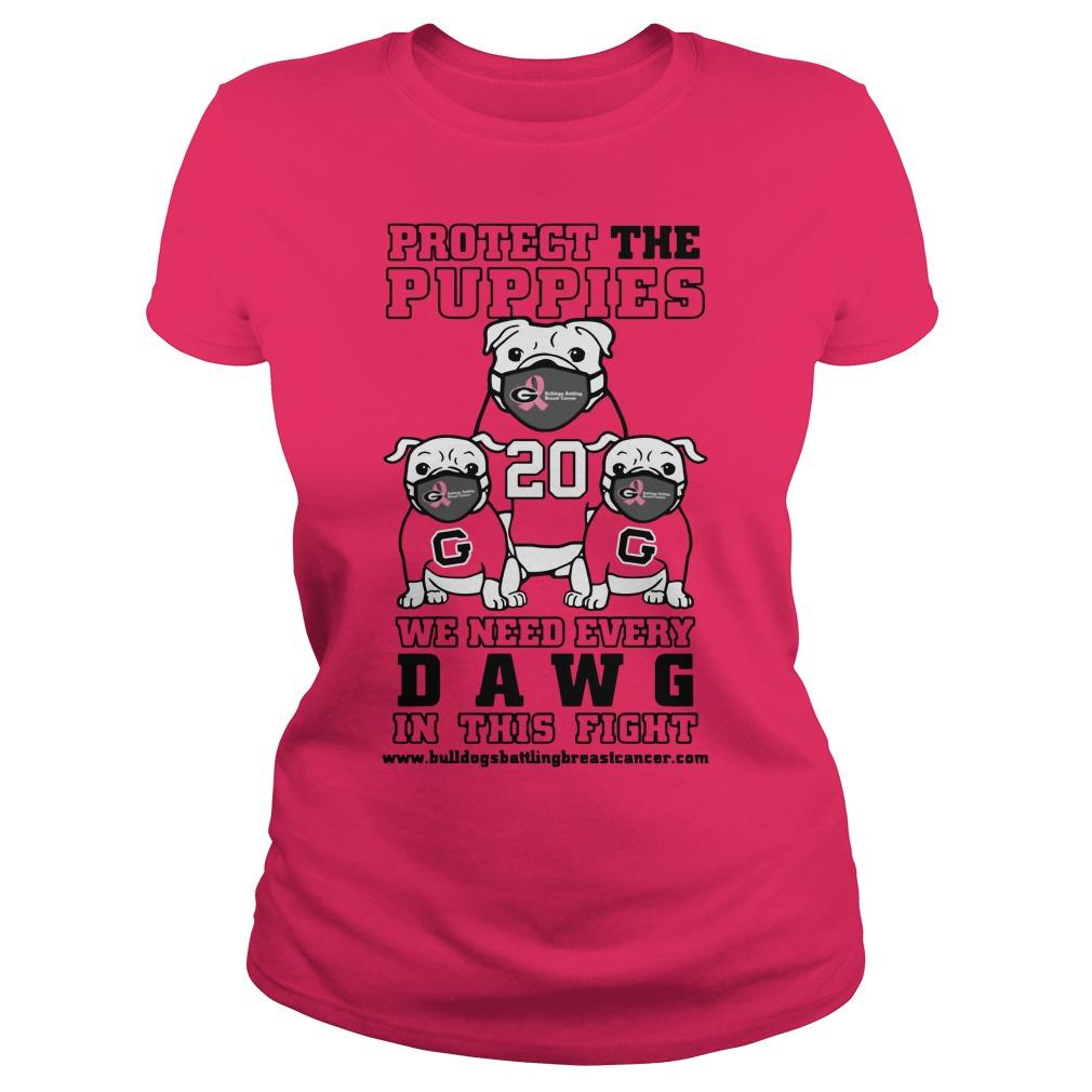 Protect The Puppies We Need Every Dawg In This Fight Longsleeve