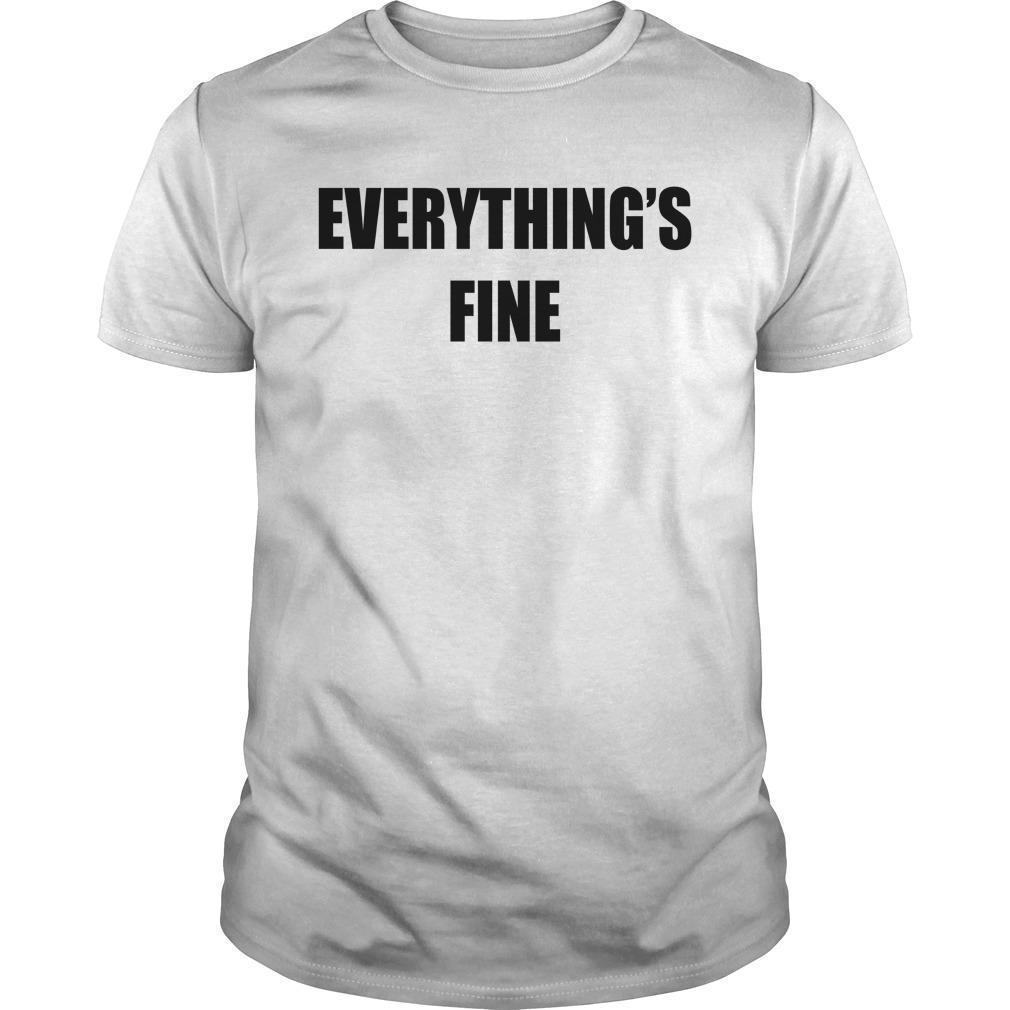 Sarah Cooper Everything's Fine Shirt