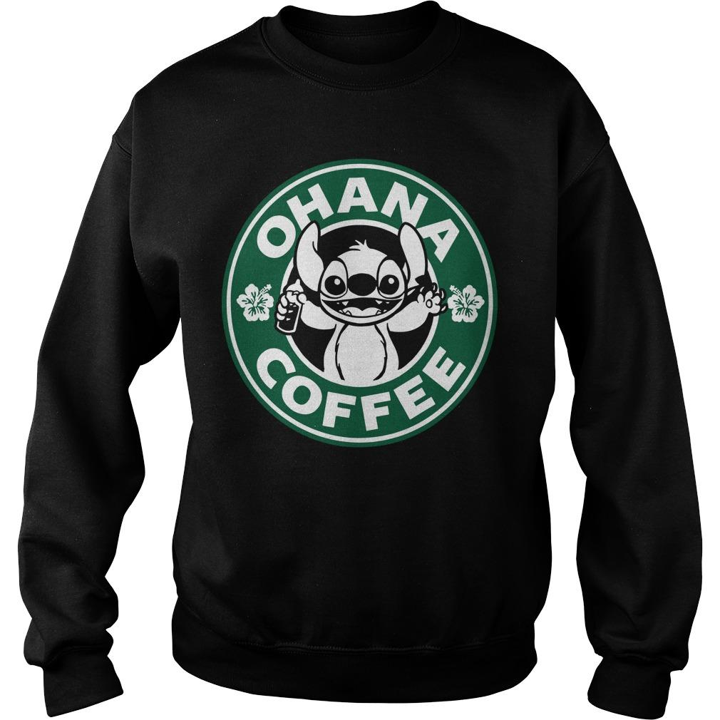Stitch Ohana Coffee Sweater